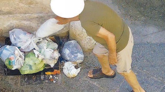 abbandono rifiuti, multe, polizia municipale, Sicilia, Archivio