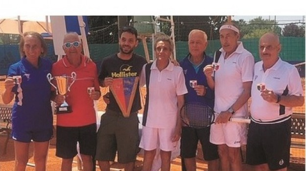 ct palermo, over 75, Tennis, Palermo, Sport