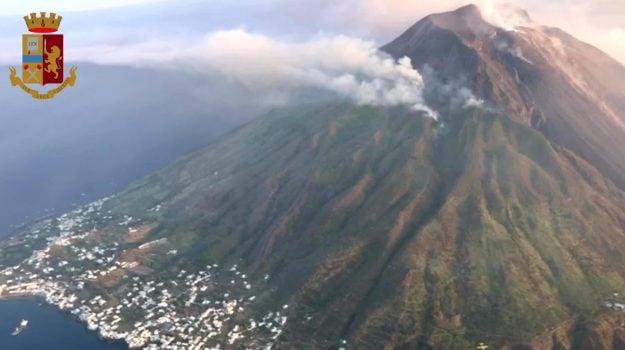 esplosione, Stromboli, vulcano, Antonio Alba, Carlo Cassaniti, Messina, Cronaca