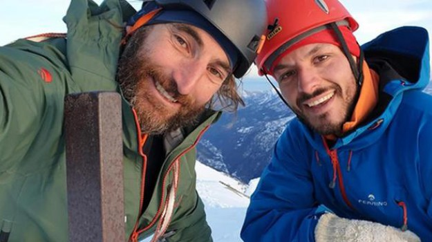 alpinista ferito, Francesco Cassardo, Sicilia, Mondo