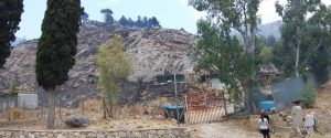 Ancora un incendio a Bellampo