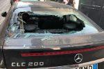 Santa Teresa di Riva, intimidazione al vicesindaco: vetri dell'auto in frantumi