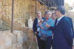 Musumeci si reca a Tusa per rilanciare gli scavi archeologici