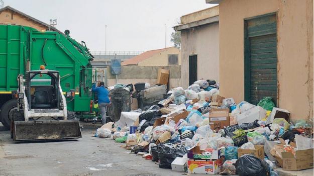 rifiuti, Agrigento, Trapani, Economia