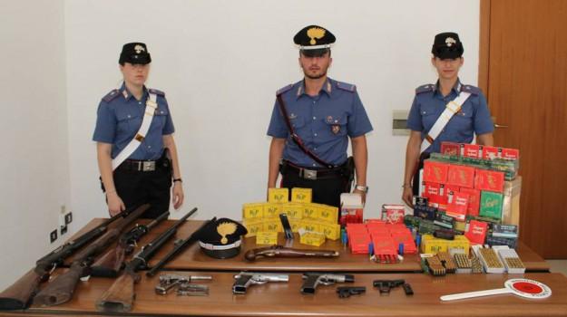 arresto marsala, detenzione illegale di armi, Giuseppe Milazzo, Trapani, Cronaca