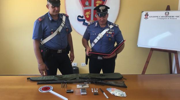 armi, arresto, droga, Agrigento, Cronaca