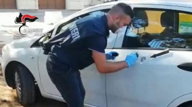 impronta digitale, naro, rapinatore arrestato, Ungureanu Alexandru Ionut, Agrigento, Cronaca