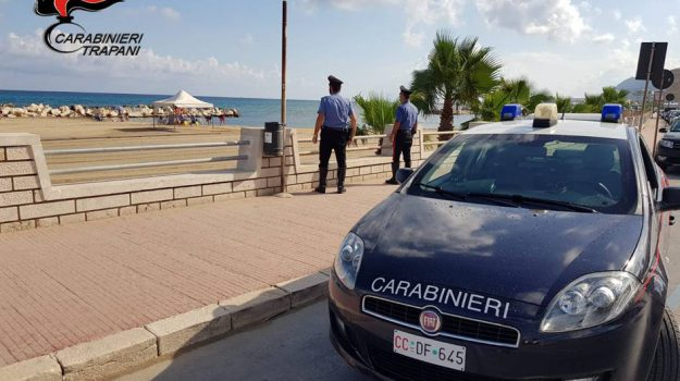 furti, spiaggia San Giuliano, trapani, Abd Lkader Yahaya, Trapani, Cronaca
