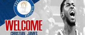 Fortitudo Agrigento, Christian James è in squadra