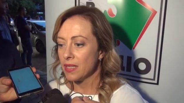 coronavirus, Giorgia Meloni, Sicilia, Politica