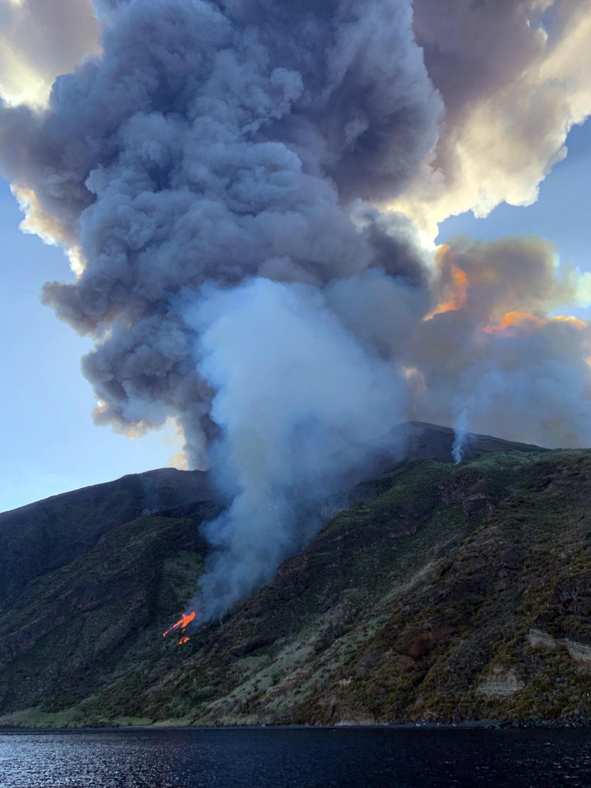 Erupcja stulecia Stromboli