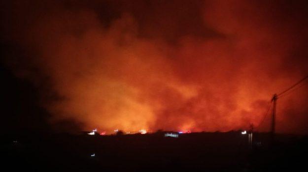 incendio, lipari, Messina, Cronaca