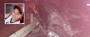 L'incidente di Alcamo e nel riquadro Francesco Provenzano