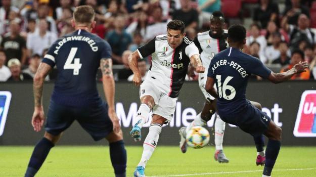 Juventus-Tottenham, Cristiano Ronaldo, Maurizio Sarri, Sicilia, Calcio