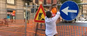 Palermo, scontri e polemiche sul doppio senso in via Roma