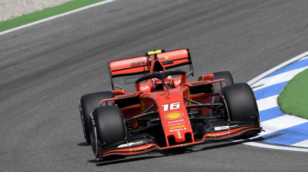 Ferrari, gp germania, Charles Leclerc, Sicilia, Sport