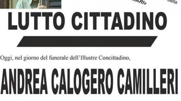 morto Camilleri, Andrea Camilleri, Agrigento, Cronaca