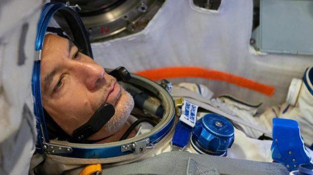 """Luca Parmitano è nella Stazione Spaziale: """"Qui è fantastico"""""""