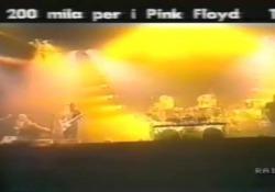 Pink Floyd, 30 anni fa il controverso   concerto a Venezia nel servizio della Rai Un'enorme folla di fans invase la laguna. Fu un grande  ma furono anche feroci le polemiche - Corriere Tv