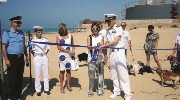 ordinanza, porto empedocle, spiaggia libera per cani, Agrigento, Società