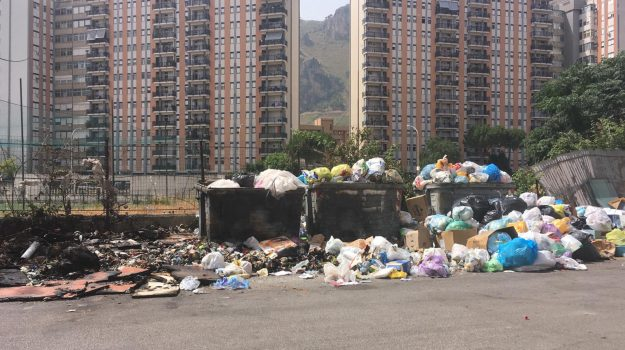 rap, rifiuti, Palermo, Politica