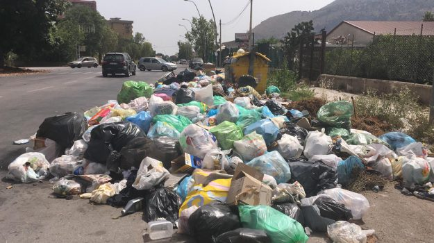 bellolampo, emergenza rifiuti palermo, Palermo, Cronaca