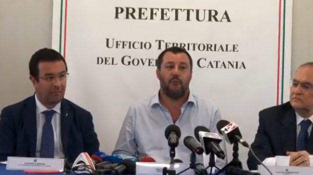 cara di mineo, migranti, rimpatri, Matteo Salvini, Catania, Politica