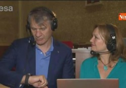 Soyuz, Nespoli: «Parmitano primo italiano comandante Iss, siamo proiettati nel futuro» La missione interspaziale - Agenzia Vista/Alexander Jakhnagiev