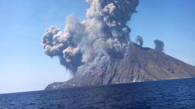 eruzione, esplosione, Stromboli, vulcano, Messina, Cronaca