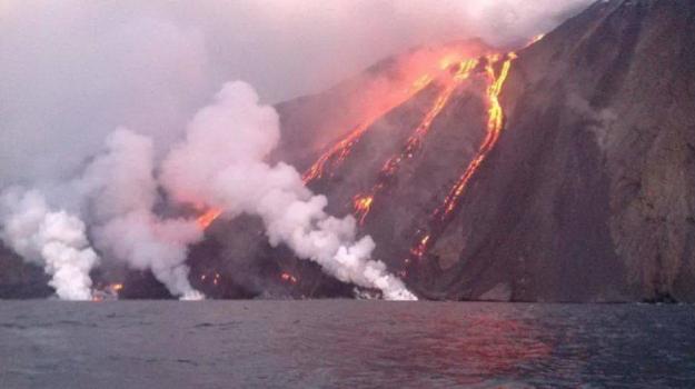 esplosione, Stromboli, vulcano, Messina, Cronaca