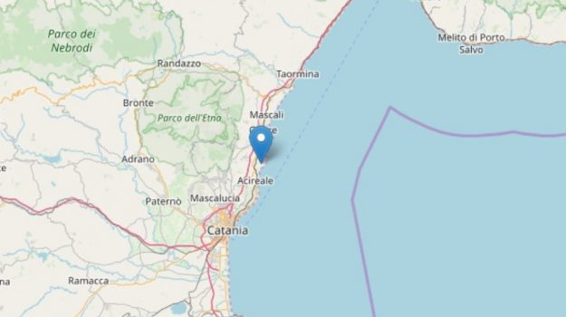 acireale, terremoto, Catania, Cronaca