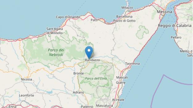 catania, messina, randazzo, terremoto, Messina, Cronaca