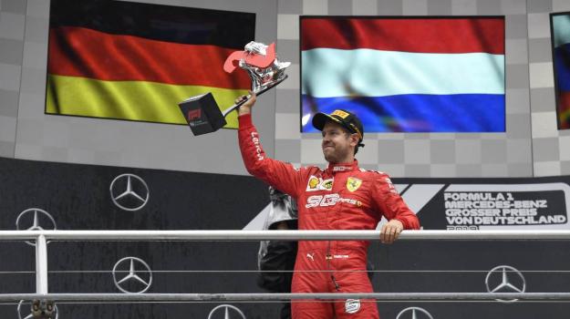 Ferrari, Sebastian Vettel, Sicilia, Sport