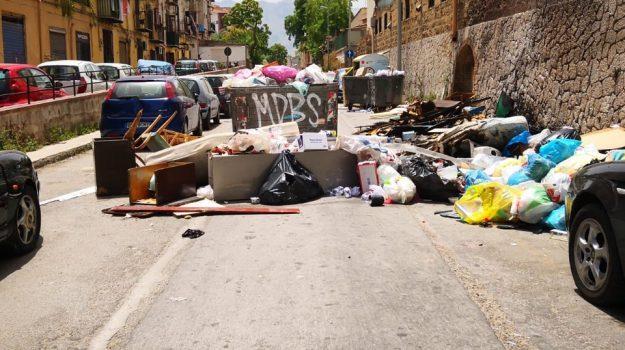 incendi, rap, rifiuti, Palermo, Cronaca