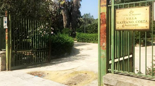 Riqualificazione Villa Costa Palermo, Palermo, Cronaca