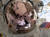 Un selfie dell'astronauta americano, Nick Hague, durante la passeggiata spaziale del marzo  2019 (fonte: NASA)