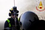Escursionista in difficoltà a Vulcano, salvato dai vigili del fuoco