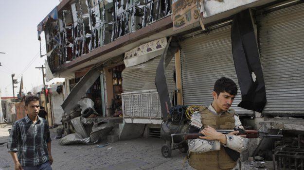 autobomba Kabul, Isis, terrorismo, Sicilia, Mondo