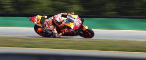 MotoGp d'Austria: Marquez vola nelle libere, Dovizioso e Rossi faticano