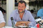 """Salvini a Catania, M5S: """"No alle passerelle, stia in spiaggia"""""""