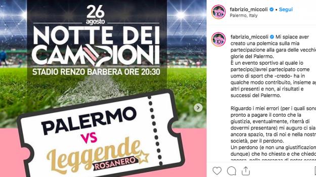 palermo calcio, Fabrizio Miccoli, Palermo, Calcio