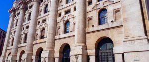 Il Palazzo Mezzanotte sede della Borsa Italiana a Milano