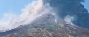 """Eruzione di Stromboli, un testimone: """"Esplosione violentissima"""""""
