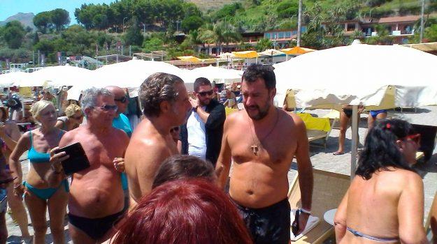 taormina, Matteo Salvini, Messina, Politica