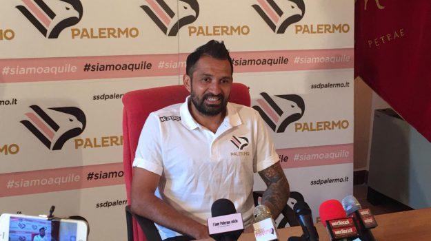 palermo calcio, Mario Alberto Santana, Palermo, Calcio