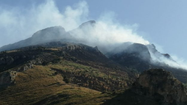 Alimena, incendi, termini imerese, Palermo, Cronaca