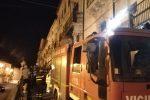 Vigili del fuoco in via Roma a Vizzini