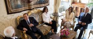 """Consultazioni, Berlusconi e Meloni: """"Ridare la parola agli italiani"""""""