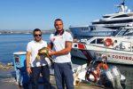 Siracusa, Caretta caretta salvata dalla Guardia Costiera