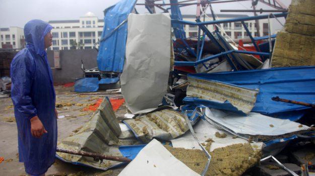 ciclone, CINA, Sicilia, Mondo